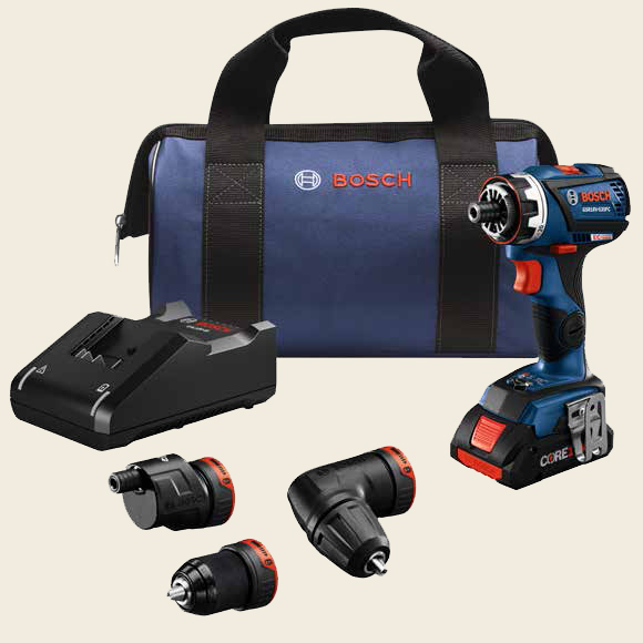 BOSCH Flexiclick Chameleon 5-in-1 Drill/Driver System